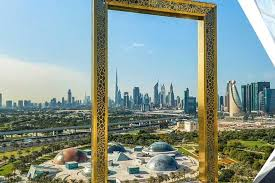 dubai frame and city tour covid 19