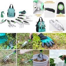 trowel wolfwill 9 piece garden tools