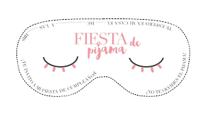 Invitacion De Fiesta De Pijama Descargable Fiesta De Pijamas