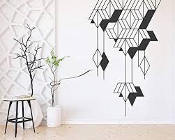 Amazon Com Kuarki Wind Chimes Wall Sticker Geometric Wall Sticker Wall Art Decal Hq Two Dimensions Available L Home Kitchen