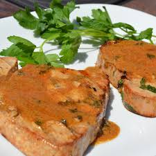 Grilled Tuna Steak - The Lemon Press