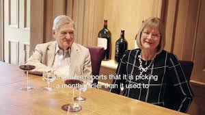 Hugh Johnson OBE & Jancis Robinson MW OBE on climate change - YouTube