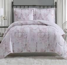 paris full queen comforter set