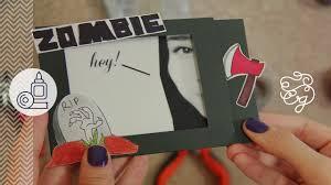 Tarjeta Magica Invitacion Zombie Craftingeek Youtube
