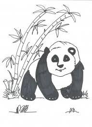 Dieren Panda Kleurplaten