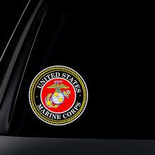 U S Marine Corps Car Decal Sticker