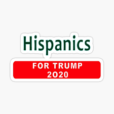 Hispanics For Trump Stickers Redbubble