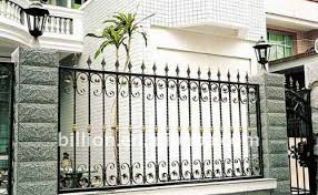 Horizontal Steel Fence Design Factory Buy Garden Fence Baluster Garden Fence Horizontal Steel Fence Design Product On Alibaba Com