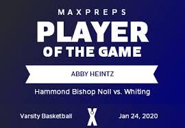 Hammond Bishop Noll vs Whiting   Girls Basketball   1/24