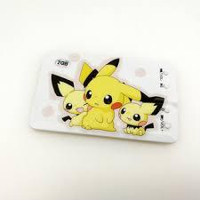 Pikachu Custom Credit Card Mp3 Player,Name Card Mp3,Support Tf Card 1gb 2gb 4gb 8gb - Buy Pikachu Mp3 Player,Pikachu Card Mp3 Player,Credit Card Mp3 Product on Alibaba.com
