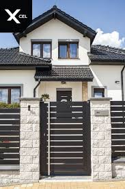 85 Extraordinary Fence Design Models Tips On How To Select A Fence Design 5 In 2020 House Fence Design Modern Fence Design House Gate Design
