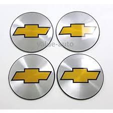 Amazon Com 4 New Chevrolet 55 Mm Wheel Center Cap Emblems Sticker Decal Automotive