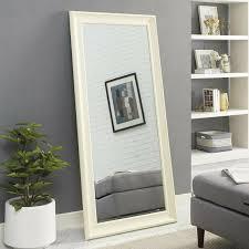 wood wall mirror large wall mount