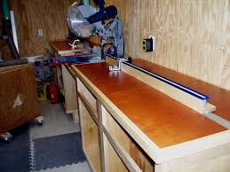 Miter Saw Station 4 The Fence System By Lenny Lumberjocks Com Woodworking Community