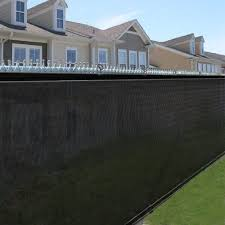 4 Privacy Mesh Screen Fence Windscreen Mesh Fabric Outdoor Screen Fence By Sky Enterprise Usa Http Www Amazon C Backyard Fences Outdoor Privacy Screen Panels