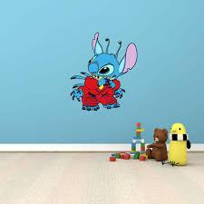 Lilo Stitch Funny Cartoon Kids Room Wall Decor Sticker Decal 19 X25 For Sale Online