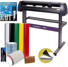Amazon Com Vinyl Cutter Uscutter Mh 34in Bundle Sign Making Kit W Design Cut Software Supplies Tools Us Based Customer Support Electronics