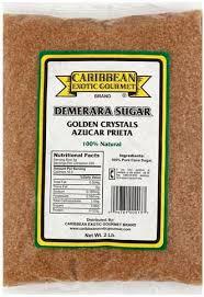 caribbean exotic gourmet demerara sugar