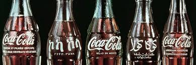 collecting coca cola bottles