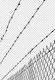 Barbwire Fence Barbed Wire Fence Barbed Tape High Voltage Barbed Wire Protective Wall Transparent Background Png Clipart Hiclipart