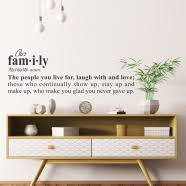 Family Room Wall Decals Family Quotes Art The Simple Stencil