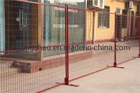 China Temporary Construction Fence With Concrete Block Base Brace Stay Clamp And Shade Cloth China Temporary Fencing Construction Fence
