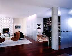 modern wall dividers frosted glass room