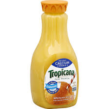tropicana pure premium orange juice no