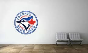 Toronto Blue Jays Logo Wall Decal Mlb Baseball Sport Decor Mural Vinyl Sticker Ebay