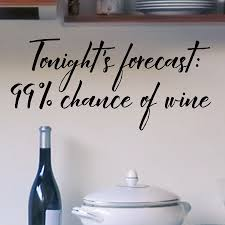 Chance Of Wine Wall Quotes Decal Wallquotes Com