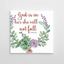 bible verse psalm motivational quotes on canvas expressed in