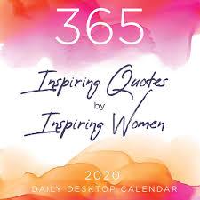 inspiring women quotes daily desktop calendar tf