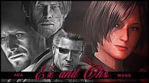 Ada Wong    Ex's and Oh's - YouTube