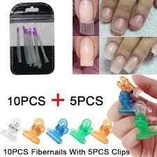 nail silk wraps extension acrylic nail