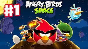Angry Birds Space - Gameplay Walkthrough Part 1 - Pig Bang Level ...