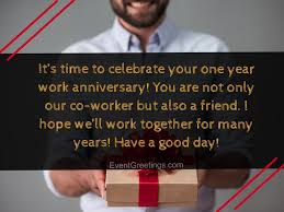 unique happy year work anniversary quotes images
