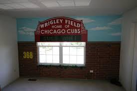 Sports Mural Chicago Blackhawks Murals Dfranco Finishes Elgin Lake Geneva