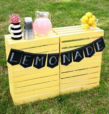 super easy diy lemonade stand happy