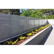 Fentech Uv Proof White Pvc Garden Fence