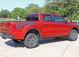 2019 Ford Ranger Stripes Side Body Decals Guardian Vinyl Graphics Auto Motor Stripes Decals Vinyl Graphics And 3m Striping Kits