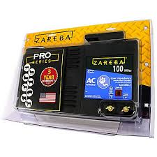 Zareba 100 Mile Ac Powered Electric Fence Charger Eac100m Z Zarebasystems Com