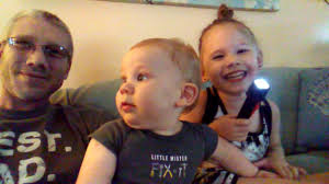 Iva,James and daddy visit - YouTube