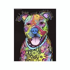 Pit Bull And I Fear Your Ignorance Dean Russo Vinyl Dog Car Etsy
