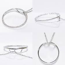 diamond pendant necklace white gold