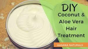 diy coconut aloe vera cream