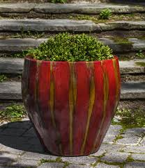 modern garden pots ceramics and