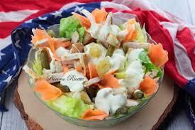 Caesar salad con straccetti di pollo - Piovono Ricette