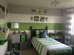 Boys Gray Green Transportation Inspired Bedroom Boys Bedroom Paint Color Boys Bedroom Colors Boy Room Paint