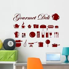 Assorted Food And Kitchen Wall Decal Sticker Set Wallmonkeys Com