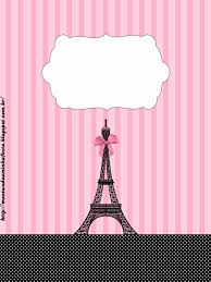 Paris Etiquetas Para Candy Bar Para Imprimir Gratis Fiesta